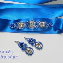 brau si cercei albastru regal (4)
