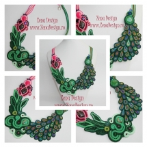 colier_paun_multicolor_soutache