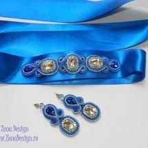 brau si cercei albastru regal (3)