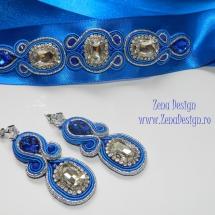 brau si cercei albastru regal (7)